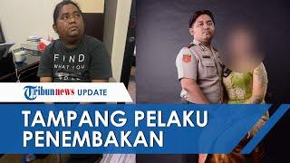 Tampang Bripka CS Pelaku Penembakan di Kafe Cengkareng, 2 Bukti Ditemukan hingga Jadi Tersangka