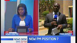 MP William Kamket introduces a bill that will create PM position, and do away with that of DP