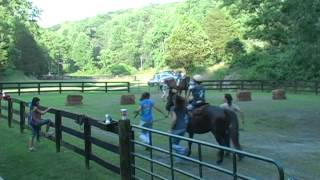 preview picture of video 'Camp Holiday Trails Horses'