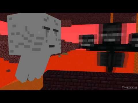 Школа Монстров   Рейсовый автобус Анимация Minecraft