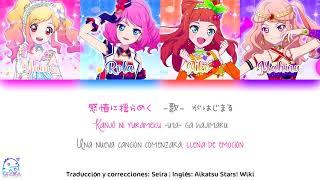Aikatsu Stars! | Yume, Rola, Ako, Mahiru — MUSIC Of DREAM!!!「Sub Español」