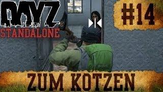 DayZ Standalone - Survivaltagebuch #14 - Zum Kotzen [German] [HD / 1080p]