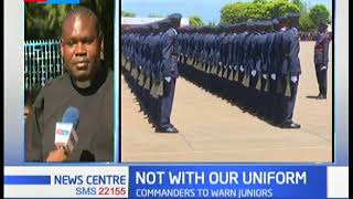 Do not preach in uniform, police officers told that there will be dire consequences