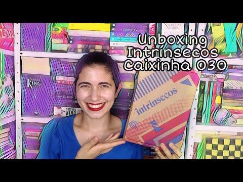 Unboxing Intrínsecos Caixinha 030 ( Março de 2021) | Livros Meus Mimos ???