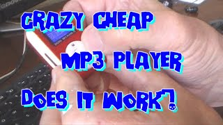 Mini Mp3 Music Player - From China, £2 Post  ' Unboxing' And Using.
