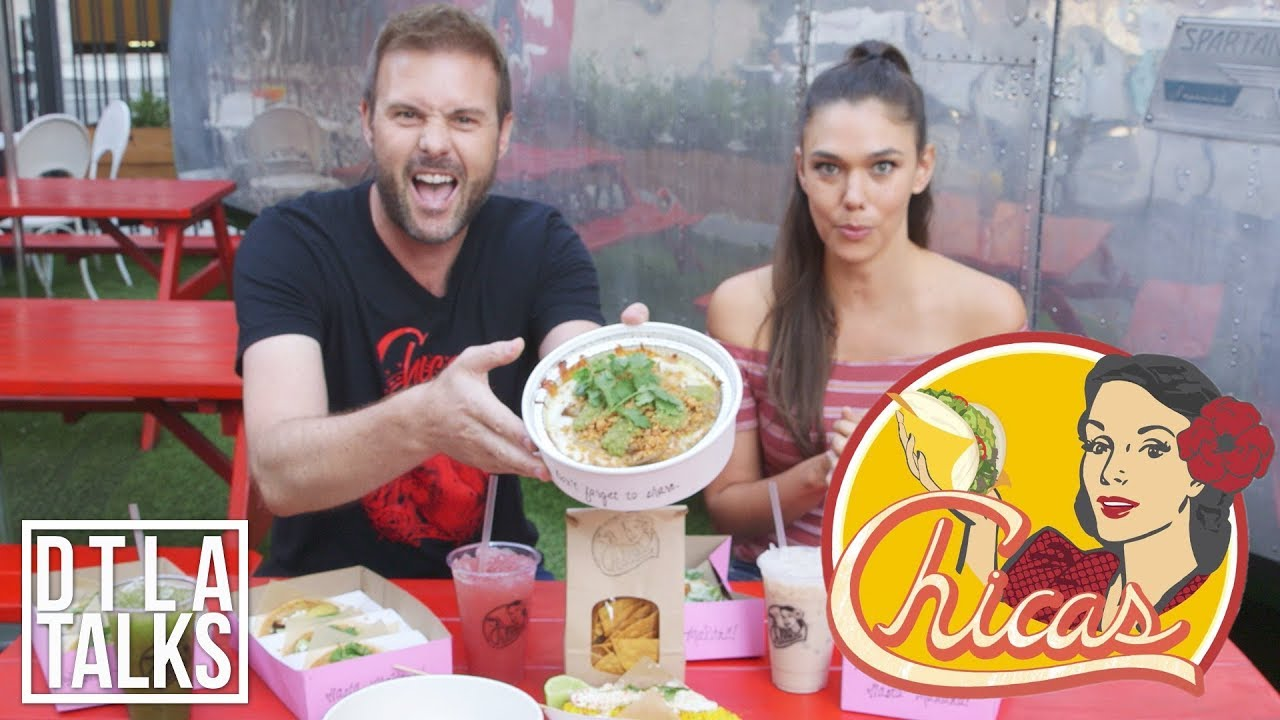 DTLA TALKS: We Visit Chica's Tacos in Downtown Los Angeles