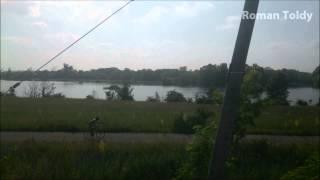 preview picture of video 'Záplavy na rieke Morava, Devínske Jazero, 7.6.2013'