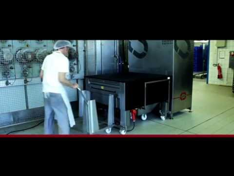 Industrial Tray Cleaning system