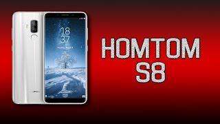 Смартфон HOMTOM S8 Black от компании Cthp - видео 1