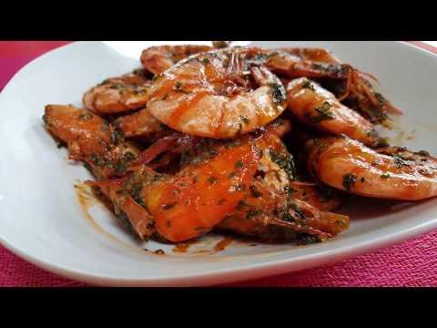 Delicious Garlic Butter Shrimp ~Sprite