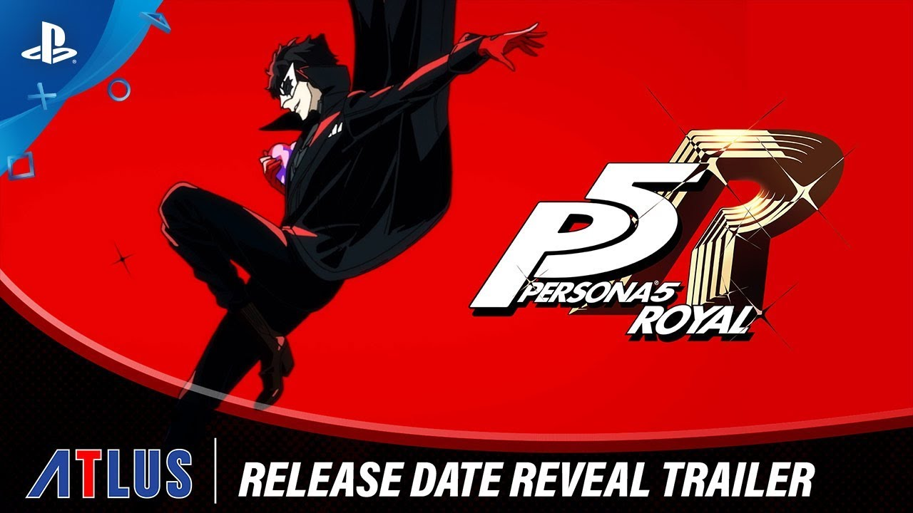 Persona 5 Royal Coming to PlayStation 4 on March 31, 2020