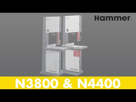 HAMMER® - N3800 and N4400 - bandsaws