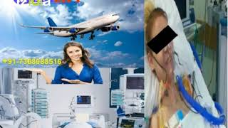 Trusted Air Ambulance Service in Lucknow with ICU Setup