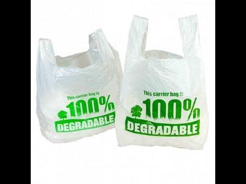 Buste di plastica biodegradabili? Proviamo!