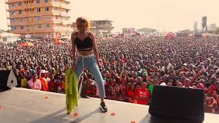 NINOGESHE MUSIC CONCERT: Nandy Atengeneza Historia Mbagala Halopesa Perfomance
