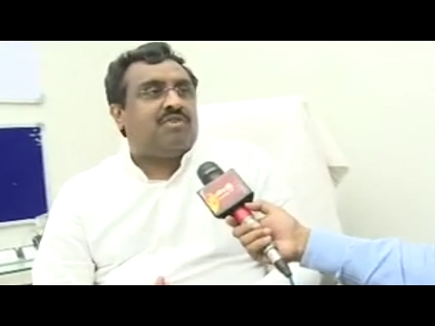 BJP General Secretary Ram Madhav Face to Face || Sakshi TV - Watch Exclusive
