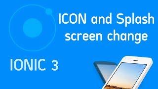 Ionic 3 Tutorial #17 Icon and Splash screen change