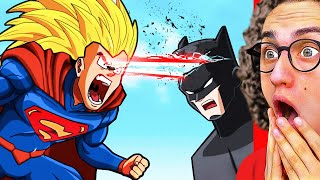 Ultimate SUPERHERO ANIMATION FIGHT You Need To See!