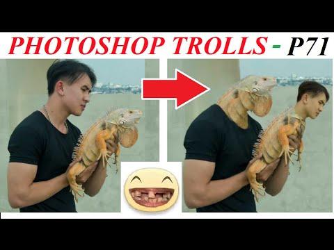 💥Photoshop Trolls (P 71) 💥Reaction Top Comment  Ảnh Chế, Gái xinh nhờ chỉnh sửa ảnh, Lâm Gia