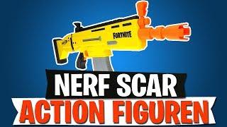 NERF SCAR | ACTION FIGUREN, MONOPOLY, FUNKO POP MERCH | Fortnite Battle Royale