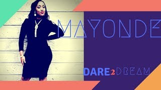 Singer, Songwriter, Content Producer and I Can Sing-Judge; Mayonde on Dare to Dream
