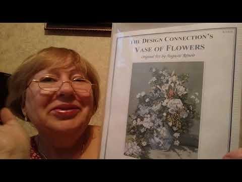 Вышивка крестиком -наборы для вышивки-цветы и натюрморты