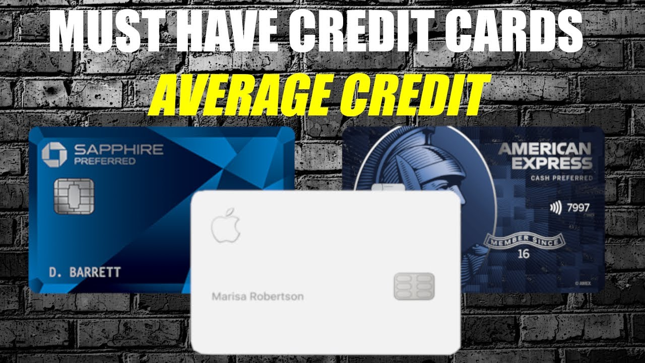 5 Need To Have Credit Cards|Ratings Listed Below 670 (2021)
