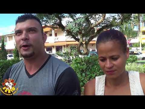 Eliezer e Michele do Bairro Floreal Park de São Lourenço da Serra sofre com o Transporte Escolar