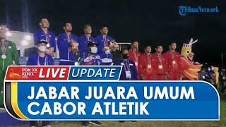 Jawa Barat Keluar sebagai Juara Umum Cabang Olahraga Atletik PON Papua