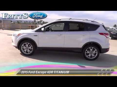 New 2015 Ford Escape TITANIUM - RIVERSIDE, CORONA, SAN BERNARDINO, MORENO VALLEY, FONTANA