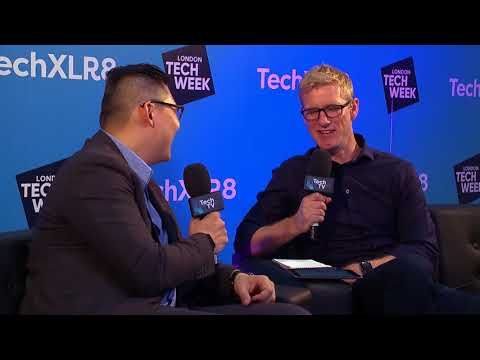 Interview with John Zai, Cocoon Networks at London Tech Week 2018