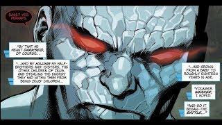 Darkseid vs Zeus and Wonder Woman - New Gods vs Old Gods
