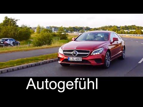 2015 New Mercedes CLS-Class Coupé Facelift test drive review Mercedes-Benz CLS - Autogefühl