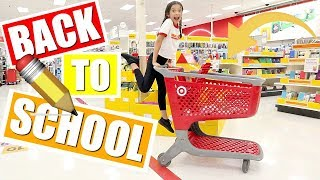 BACK TO SCHOOL shopping at TARGET 🎯 | School Supplies 📓GIVEAWAY ✨