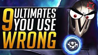 The 9 WORST Ways Everyone Uses KEY Ultimates - Grandmaster Tips & Tricks - Overwatch Pro Meta Guide