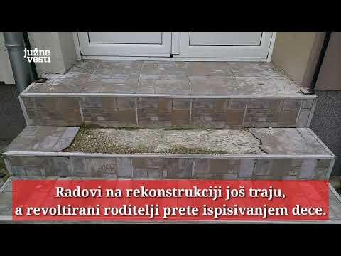 "Đaci leskovačke škole ""Josif Kostić"" skoro 2 godine van svojih klupa"