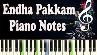Endha Pakkam (Dharma Durai 2016) Piano Notes - Music Sheet