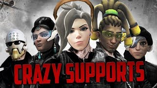 Overwatch Crazy Supports