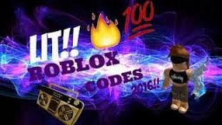 Roblox  LIT! Music Codes(2016-2017!!!)
