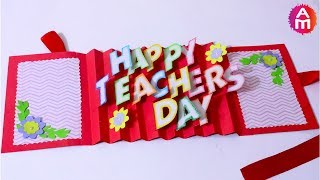 DIY Teacher's Day card | Handmade Teachers day card making idea | 3D Pop Up Card | Artsy Madhu 31