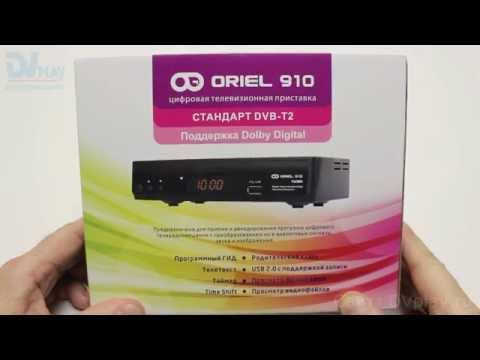 Oriel 910 - обзор DVB-T2 ресивера
