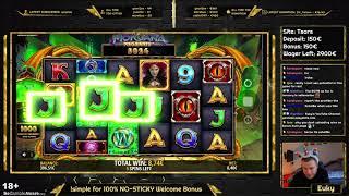 Morgana Megaways 438x - BIG WIN / Euky - Slots, Casino
