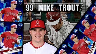 Mike Trout debut! MLB The Show Diamond Dynasty!