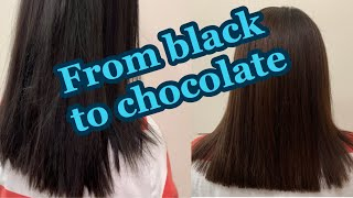 Steps To Take A Box Dye User To Chocolate Brown