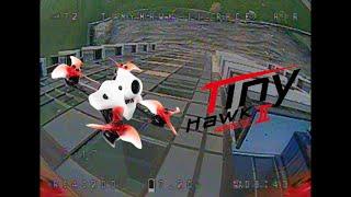 Building dives - FPV freestyle [Tinyhawk 2 Race]