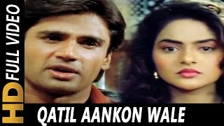 Qatil Aankhon Wale | Alisha Chinai | Hum Hain   - YouTube