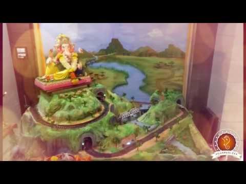 Kapil Padher Home Ganpati Decoration Video