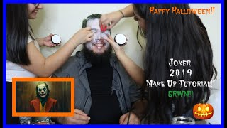 Joker 2019 Maekup Tutorial |GRWM|