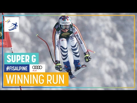 Viktoria Rebensburg | Women's Super-G| Lake Louise | 1st place | FIS Alpine