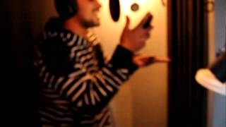 Chizzy in the booth